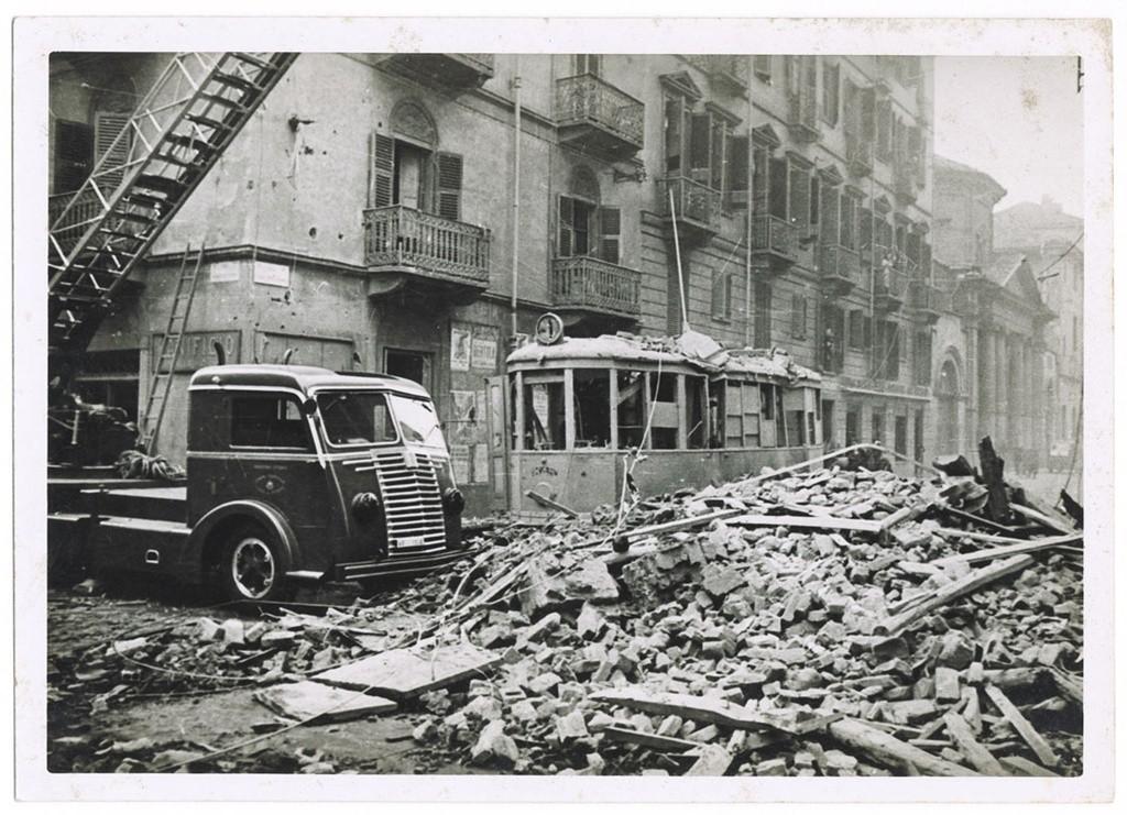 Torino: la città più bombardata d'Italia