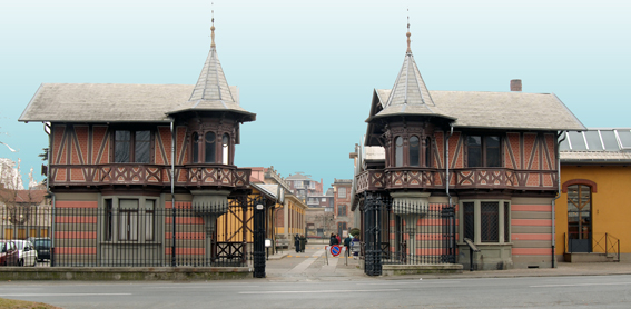 Villaggio Leumann di Torino-Collegno: una città nella città