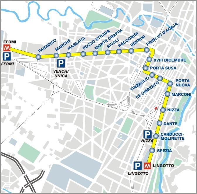 Torino Metro: tratta Lingotto - Bengasi