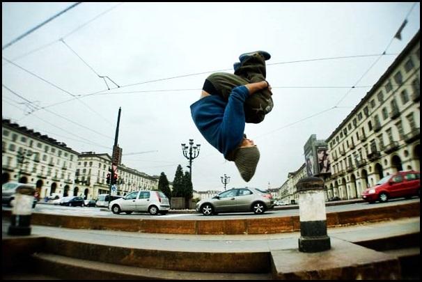 Parkour: lo sport di strada che arriva dalla Francia