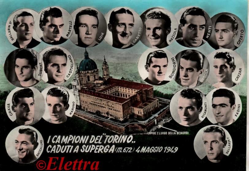 Il Grande Torino è un ricordo indelebile in tutta l'Italia