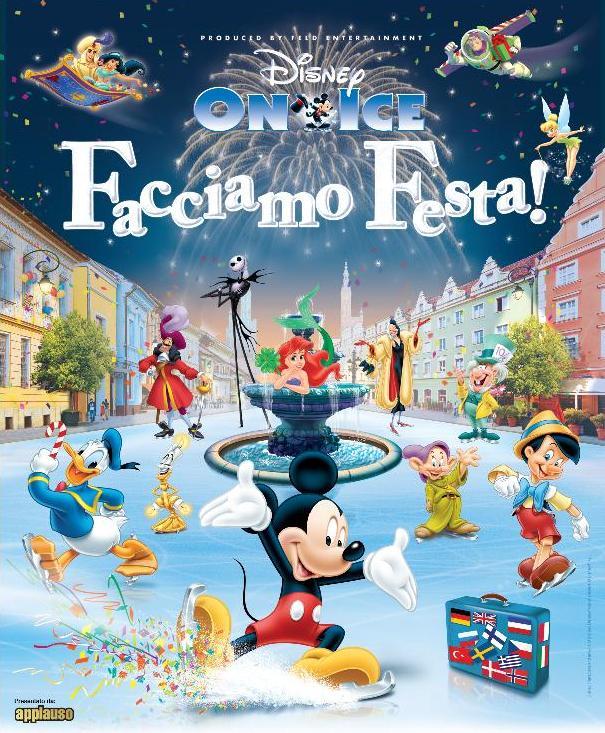 Disney on ice PalaVela Torino dicembre 2012