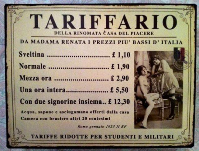 Torino: la vita al tempo delle case chiuse