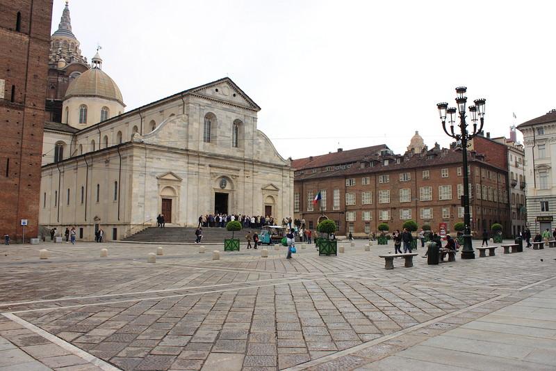 Palazzaccio piazza San GiovvanniTorino