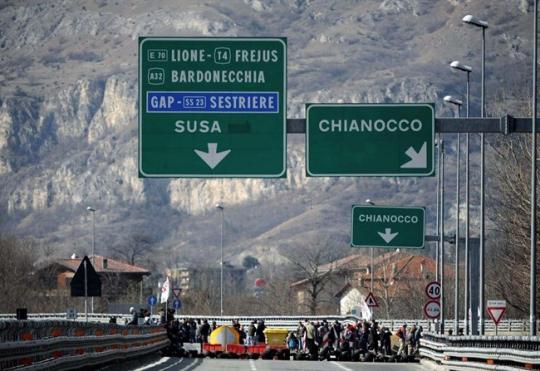 autostrada a 32 Torino Bardonecchia