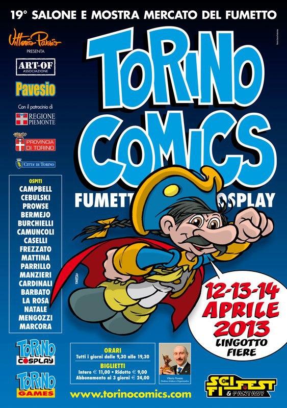 Torino Comics Aprile 2013