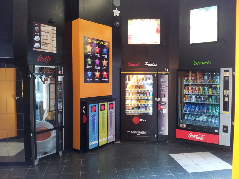 distributori automatici Torino