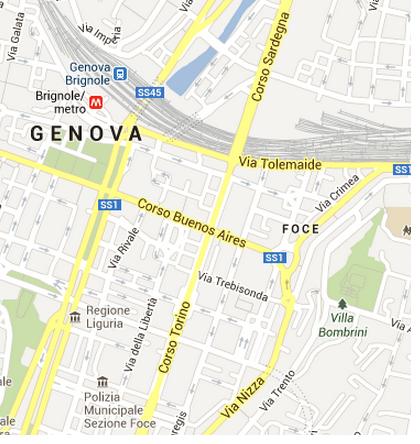 Toponomastica italiana, la forte presenza di Torino
