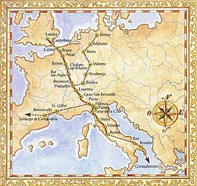 Via Francigena: l'Europa si è costruita in pellegrinaggio