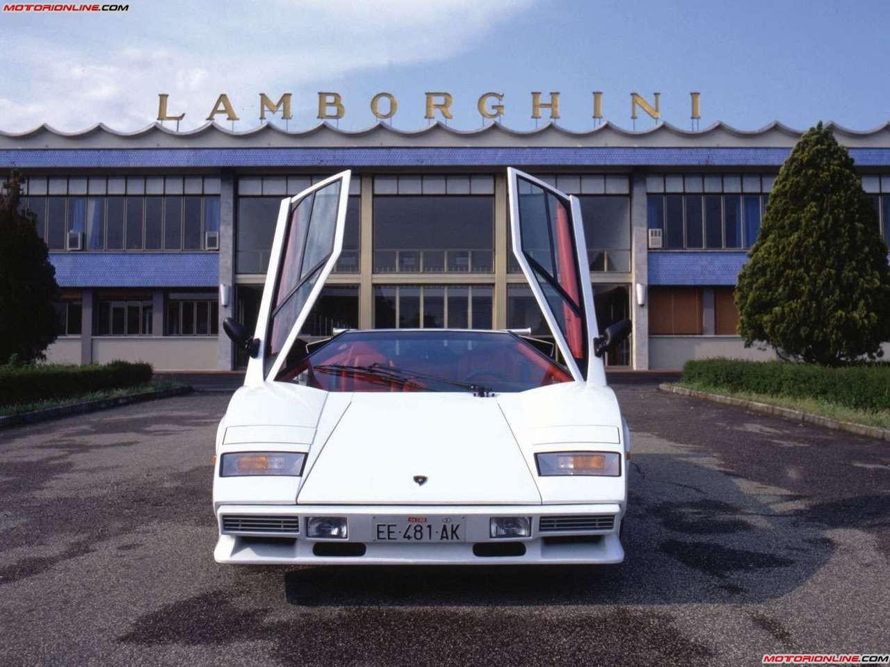 Countach nascita Lamborghini