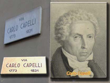 Carlo Capelli, un errore nella toponomastica torinese
