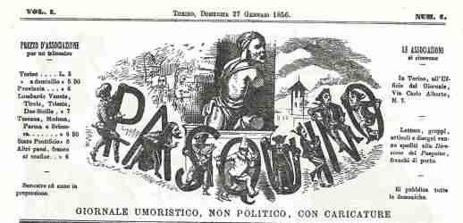 Casimiro Teja: il padre della satira è torinese