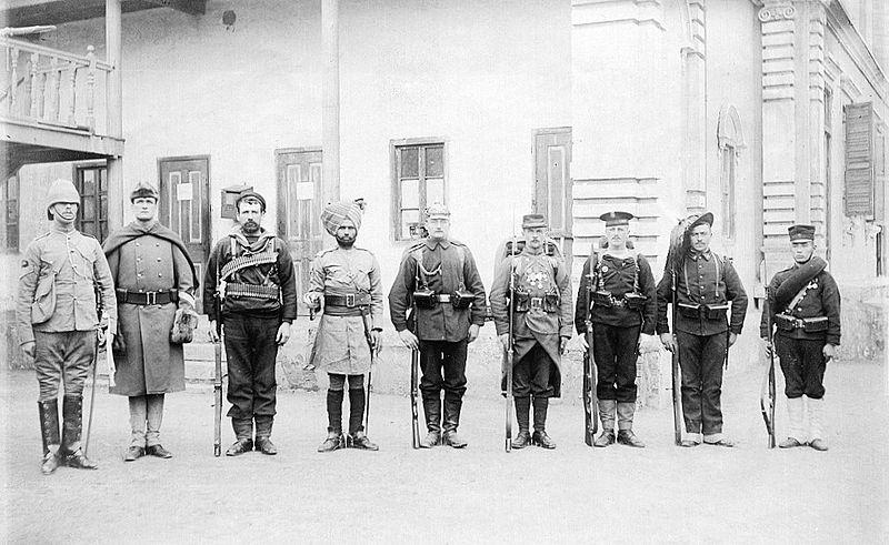Pechino l'esercito delle 8 nazioni