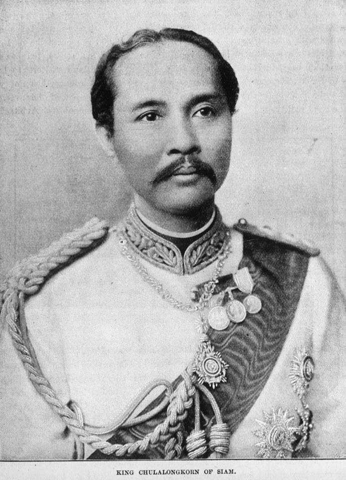Rama V, il re del Siam che si innamorò di Torino