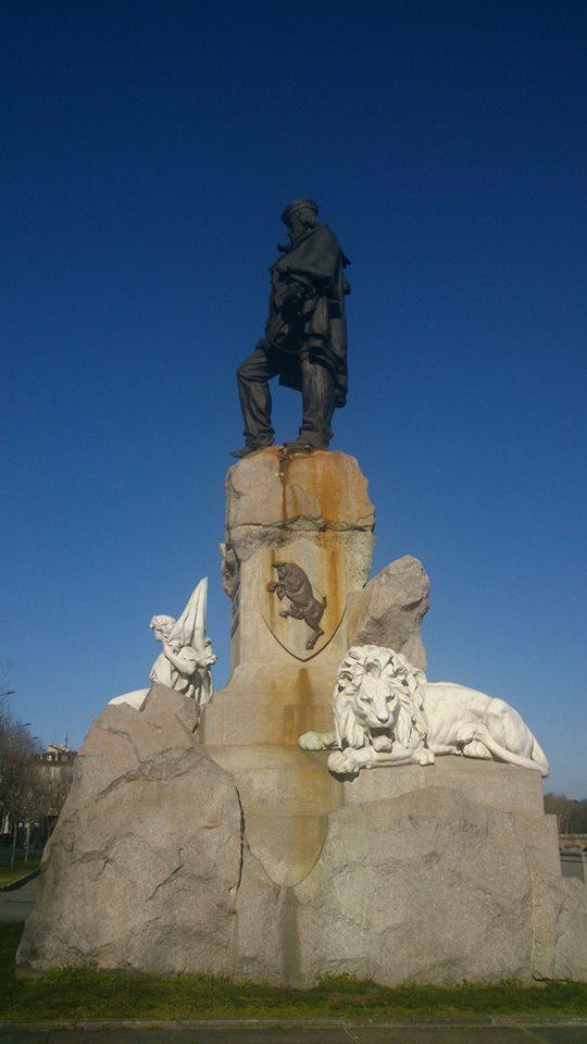 Garibaldi guarda sempre verso Roma