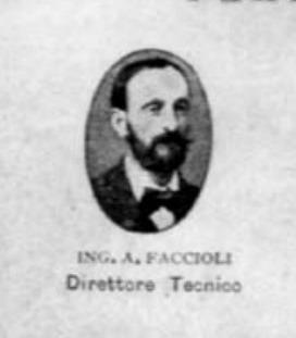 Fiat, Faccioli Ingegner Aristide Torino. L'uomo a cui Agnelli rubò il nome