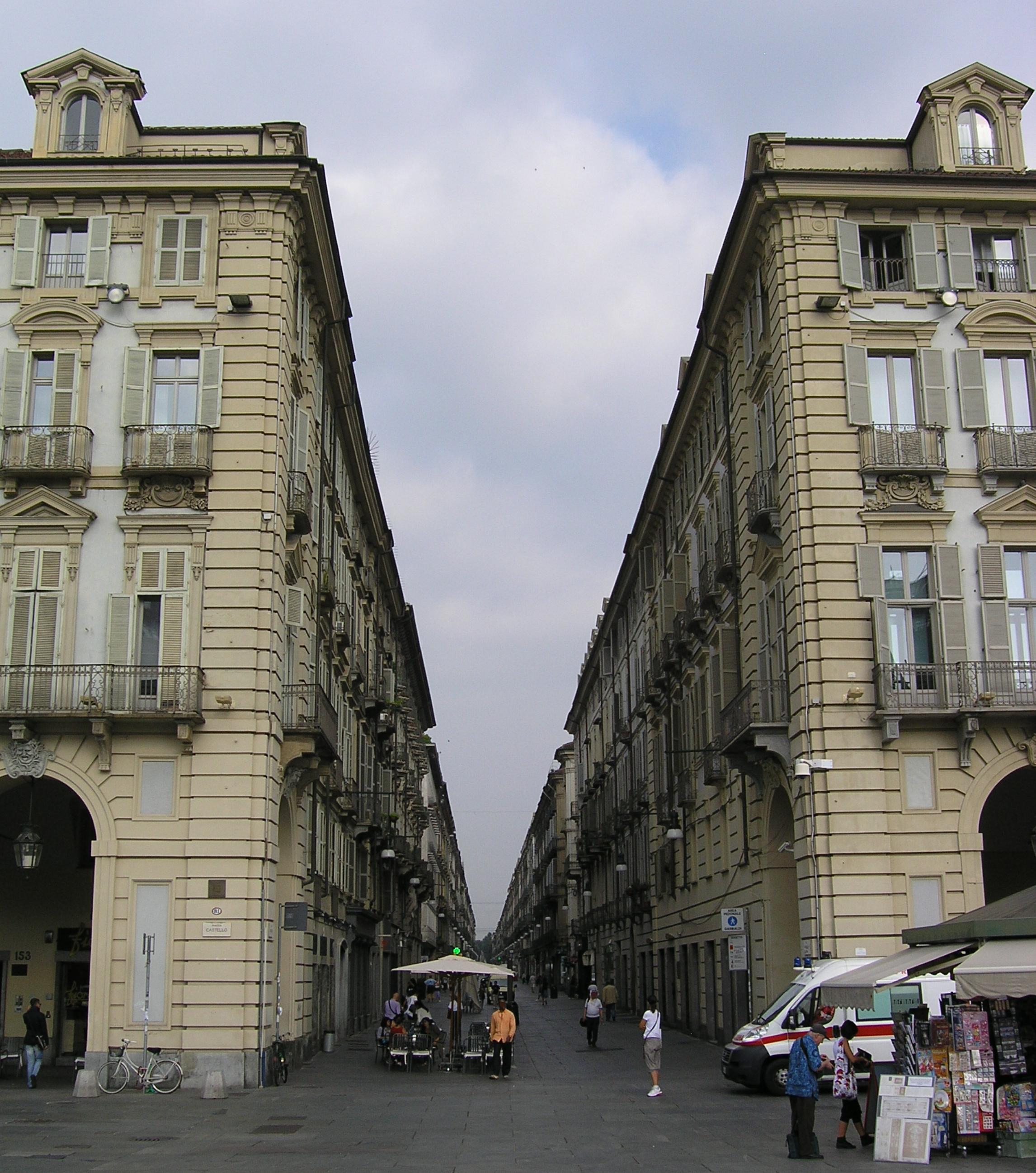 Via Garibaldi: quasi un primato europeo