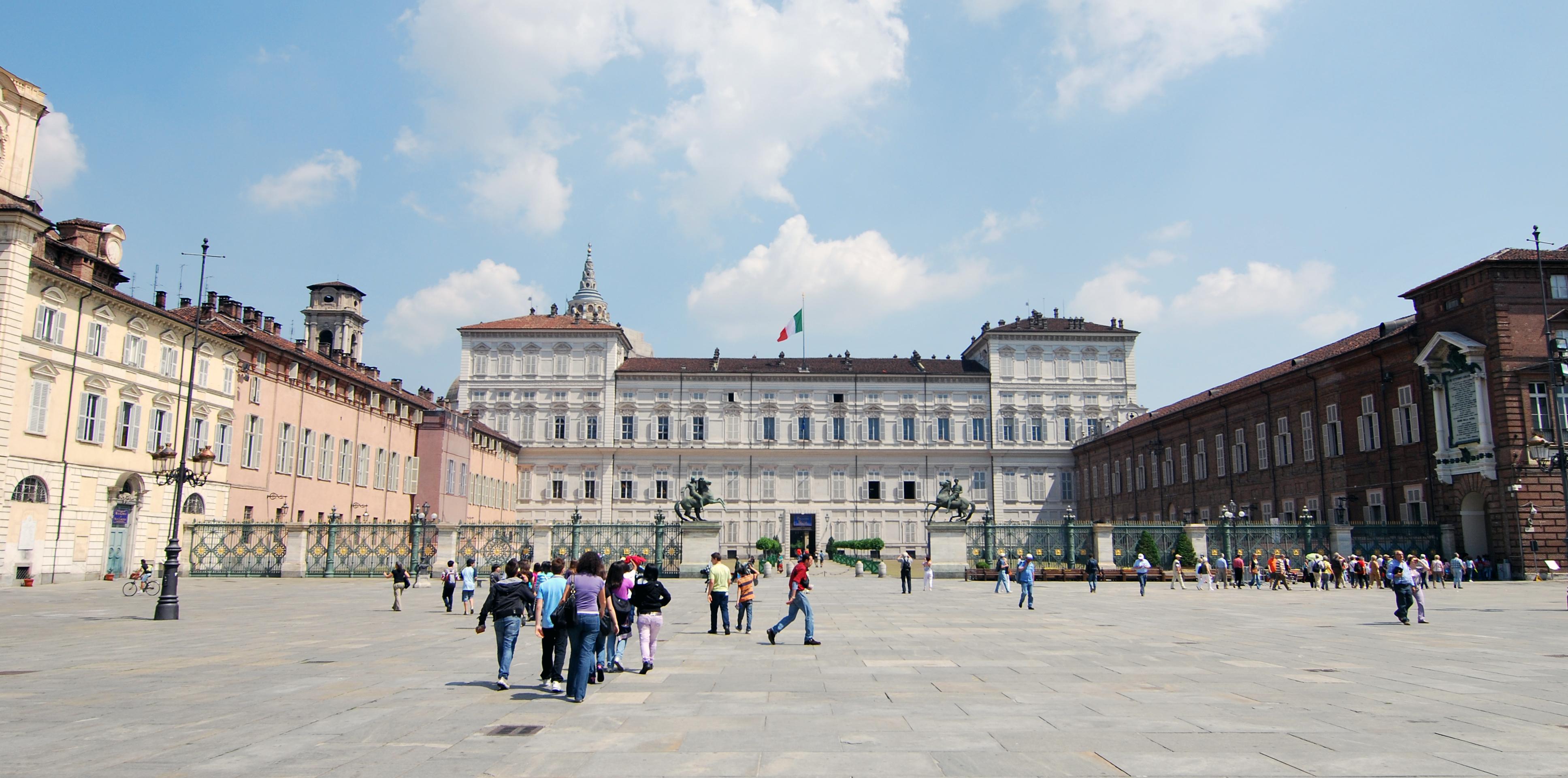 Piazza Castello, il cuore di Torino