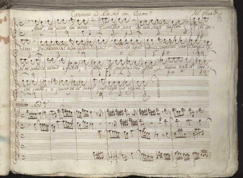 Manoscritti di Vivaldi: a Torino il suo tesoro