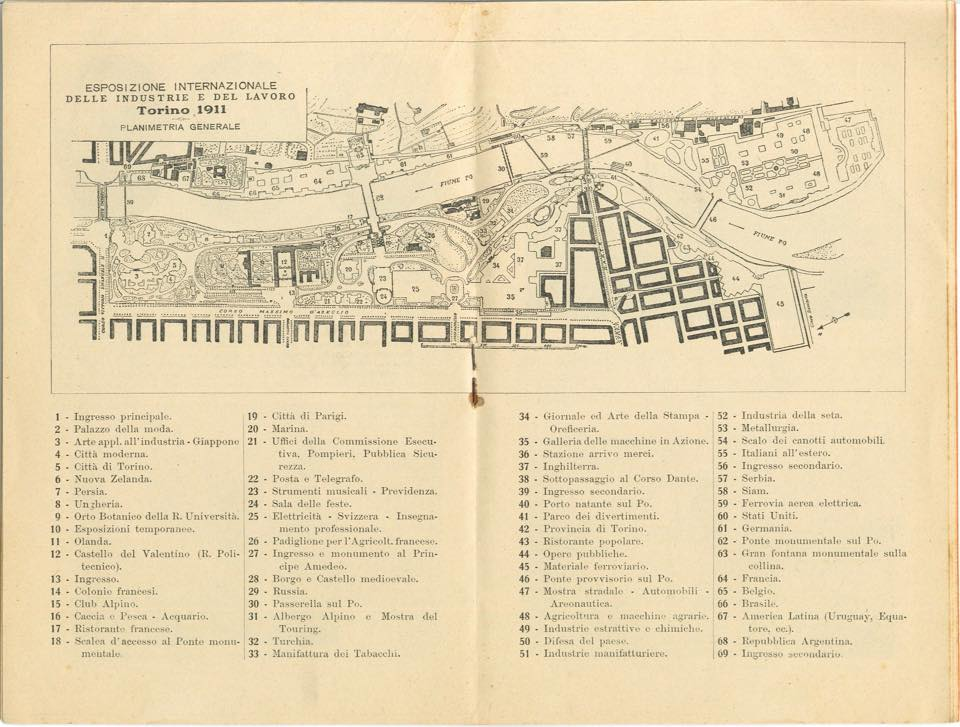 Expo 1911, il 31 ottobre si concludeva a Torino