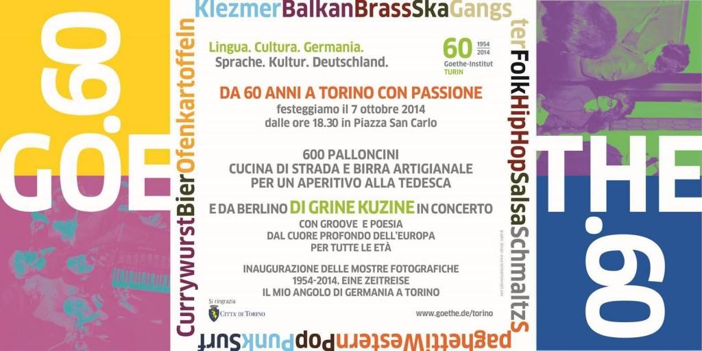 Goethe Institut: 60 anni di cultura e lingua tedesca a Torino