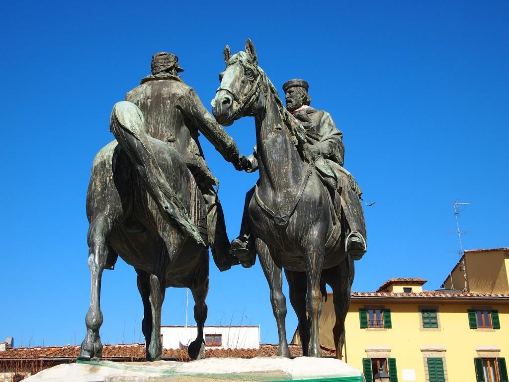 Quando Garibaldi incontrò il re. A Teano? No.