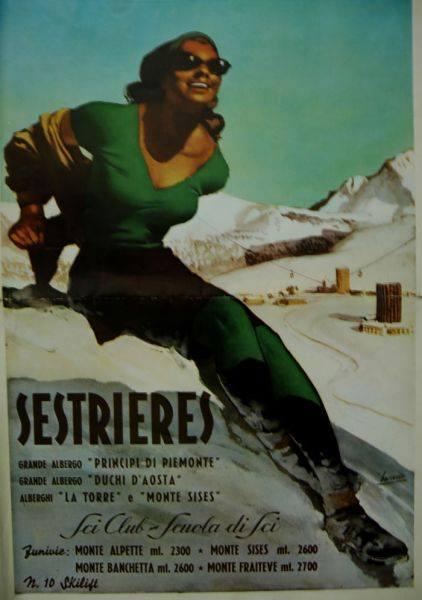 La donna verde simbolo di Sestriere si chiama Beatrice