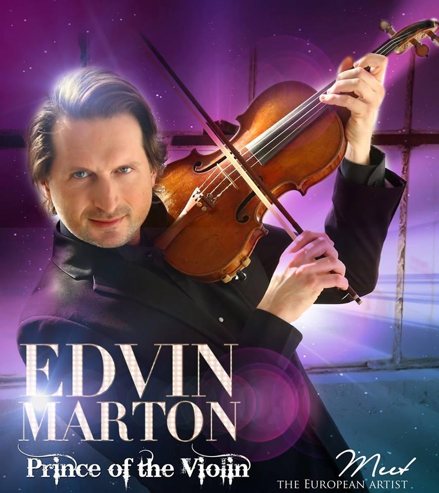 Il 'principe del violino' Edvin Marton torna a esibirsi a Torino