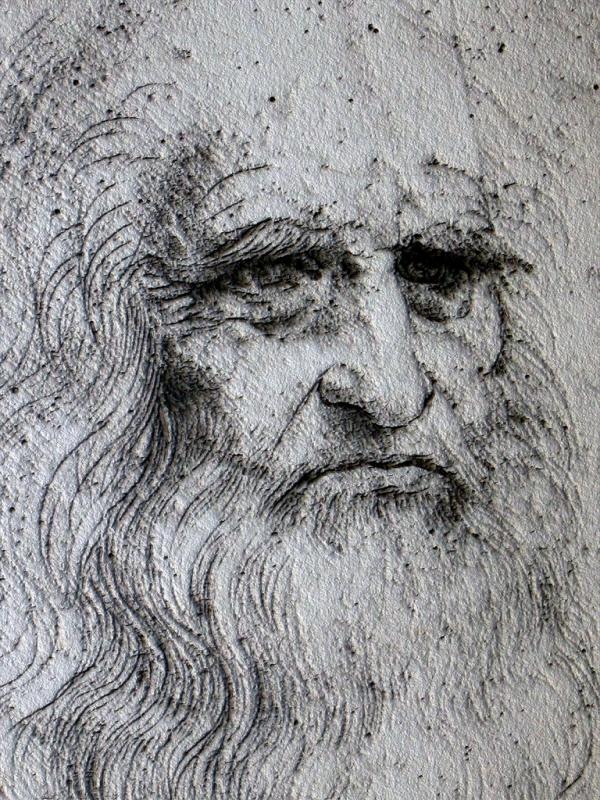Biblioteca Reale: l'autoritratto di Leonardo scompare