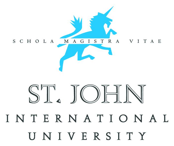 La St. John International University via dal castello di Vinovo