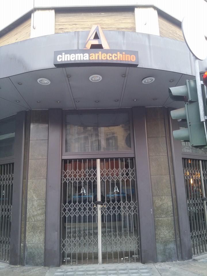 Addio al cinema Arlecchino