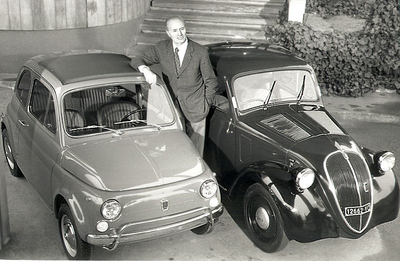 Dante Giacosa: una vita da ingegnere Torino Fiat