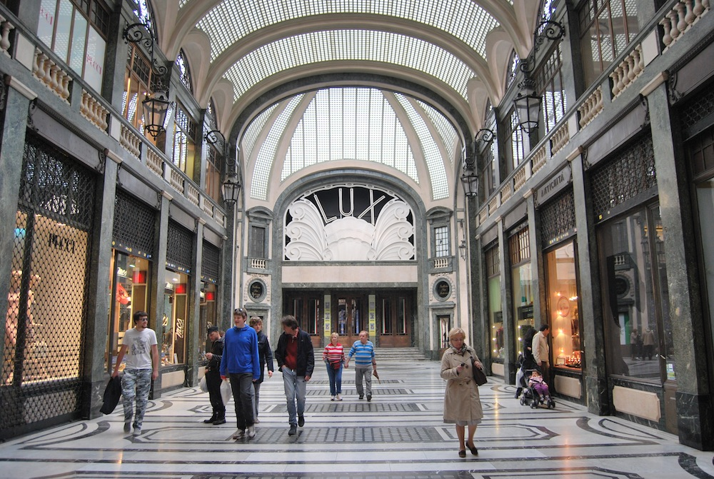 La nuova vita di Galleria San Federico