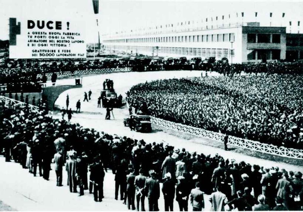 Inaugurazione Fiat Mirafiori