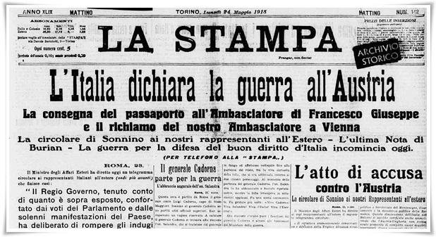 Maggio 1915: Torino sciopera contro la guerra