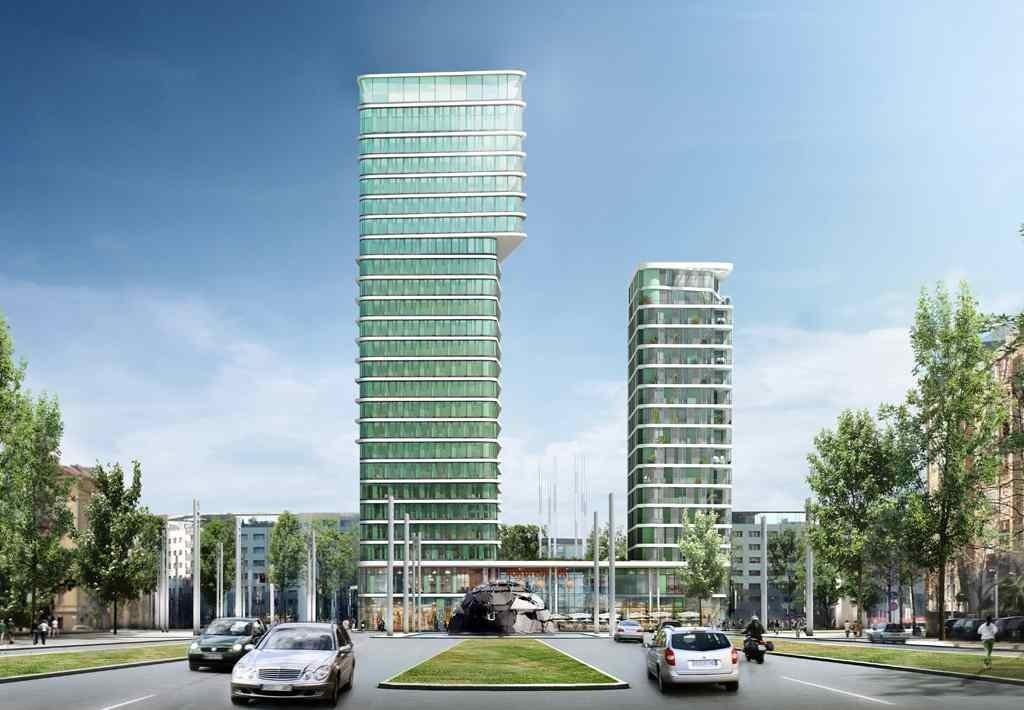 Porta europa presto un nuovo grattacielo a torino mole24 for I nuovi grattacieli di milano