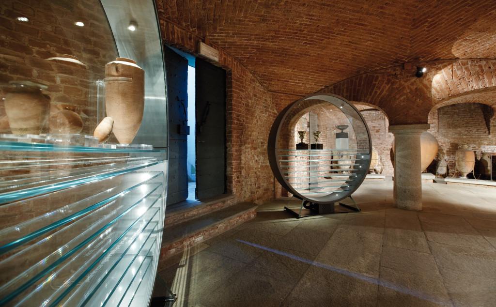 1° luglio 1847: a Torino nasce la distilleria Martini & Rossi [Scorcio del Museo Enologico]