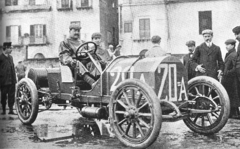 Vincenzo Lancia, fondatore dell'omonima casa automobilistica