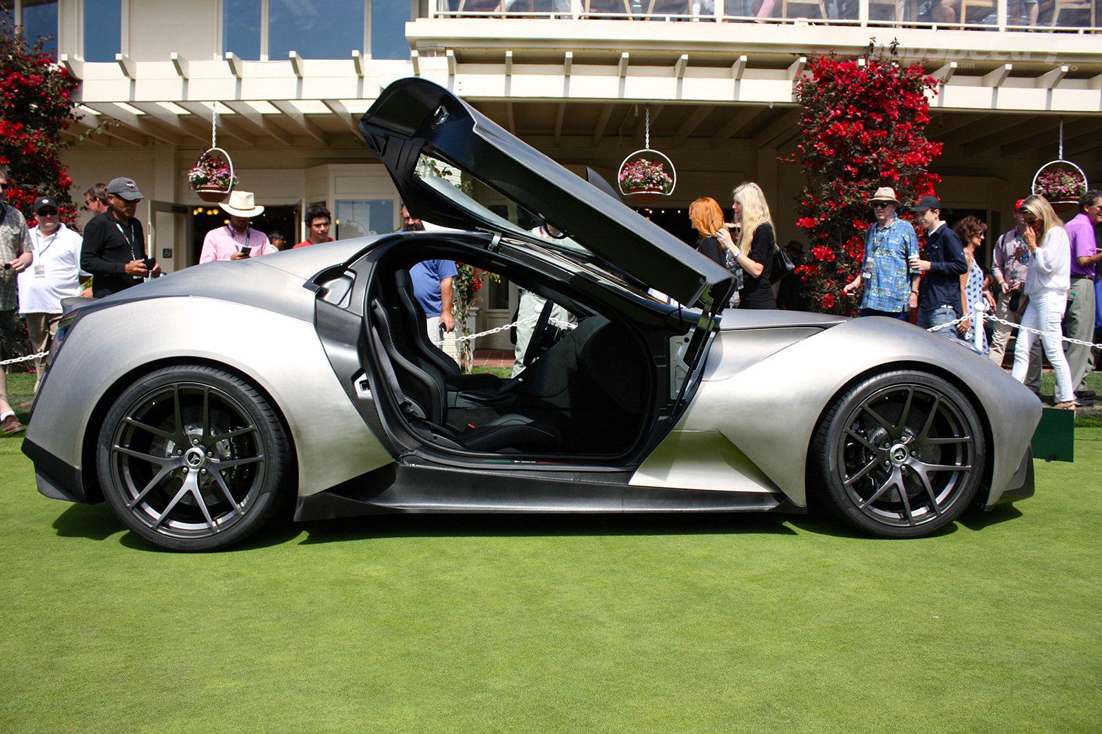Icona Vulcano: è torinese la prima vettura di titanio del mondo