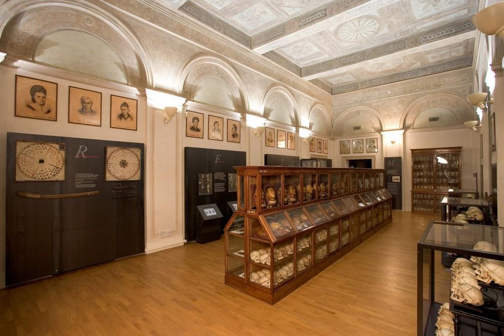 I due volti del museo Lombroso