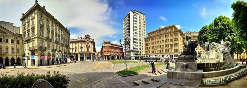 Torino Fontana Angelica, oltre alla statua c'è di più!