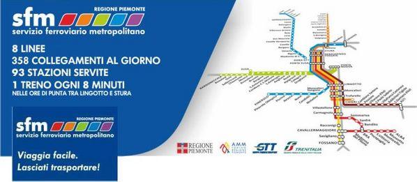 Sfm: Torino ha già la sua seconda metro!