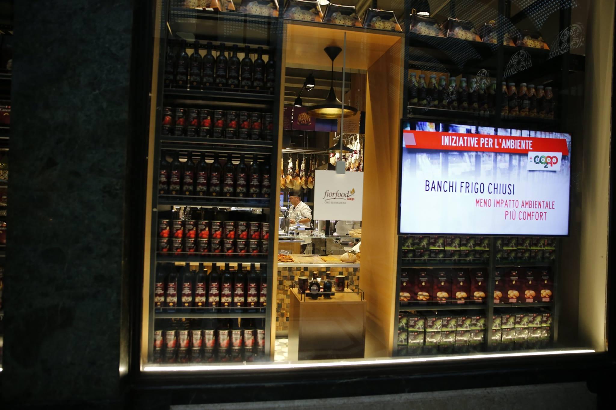 La Credenza Galleria San Federico : Da fiorfood elegante concept store coop in galleria san federico