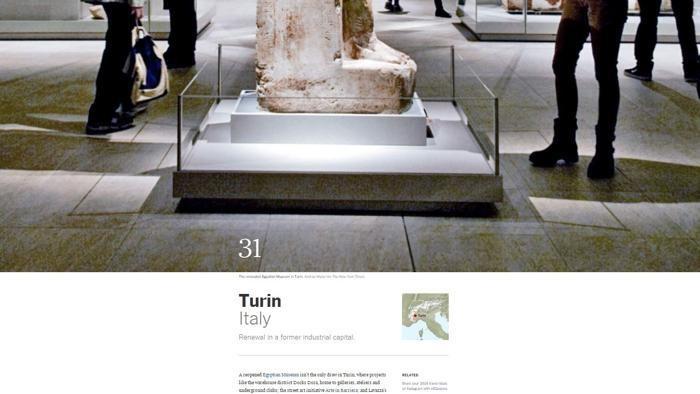 Le 52 città del mondo da visitare nel 2016 per il New York Times: c'è anche Torino