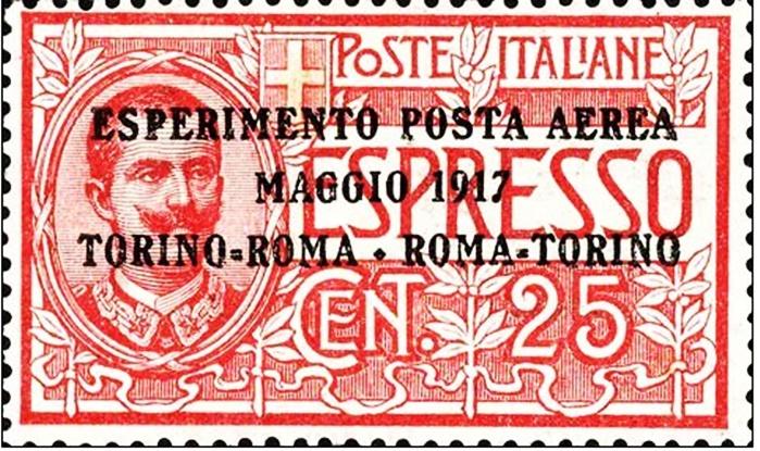 Nato a Torino il primo francobollo postale