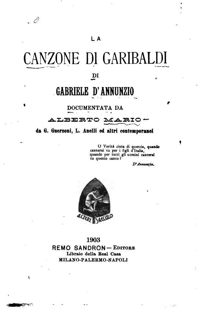 Gabriele D'Annunzio a Torino