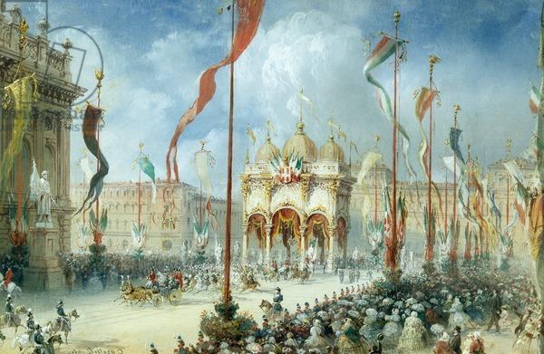 26 Febbraio 1861: il Senato acclama il Regno d' Italia
