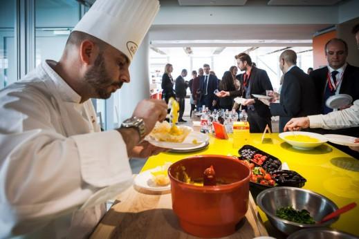 Lo ShowCooking di cucina Barilla ospite del grattacielo San Paolo Torino