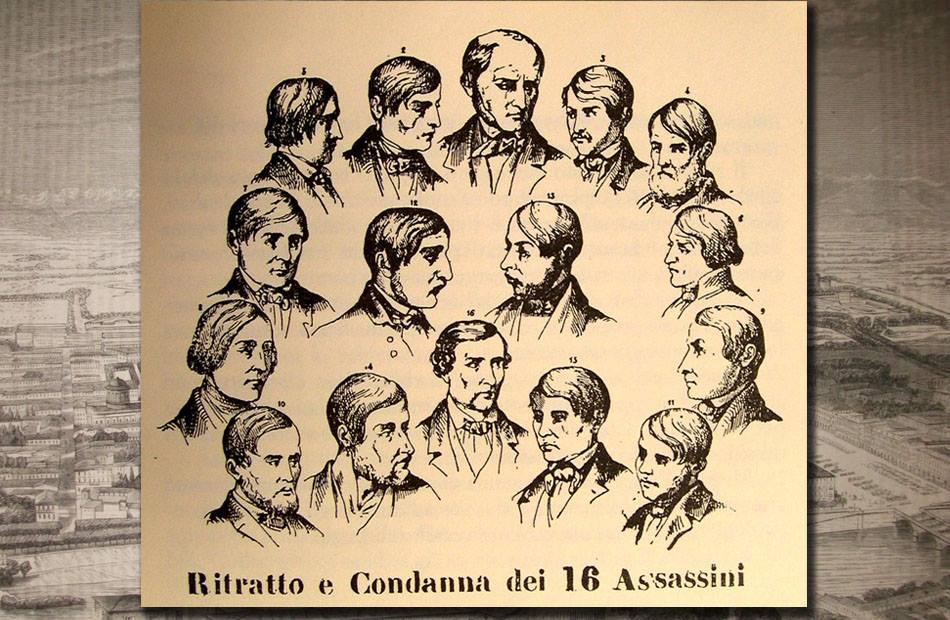 18 aprile 1850: impiccagione di tre componenti della banda Artusio al rondò dla forca