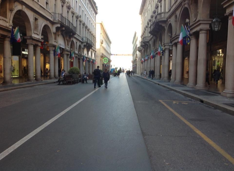 19 aprile 2015: un anno di via Roma pedonale